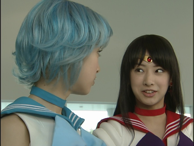 Live Action Pretty Guardian Sailor Moon Act 16 - Sailor Mercury and Sailor Mars