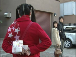 Live Action Pretty Guardian Sailor Moon Act 16 - Usagi sees Hina and Mamoru