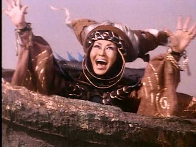 Rita Repulsa from Mighty Morphin Power Rangers