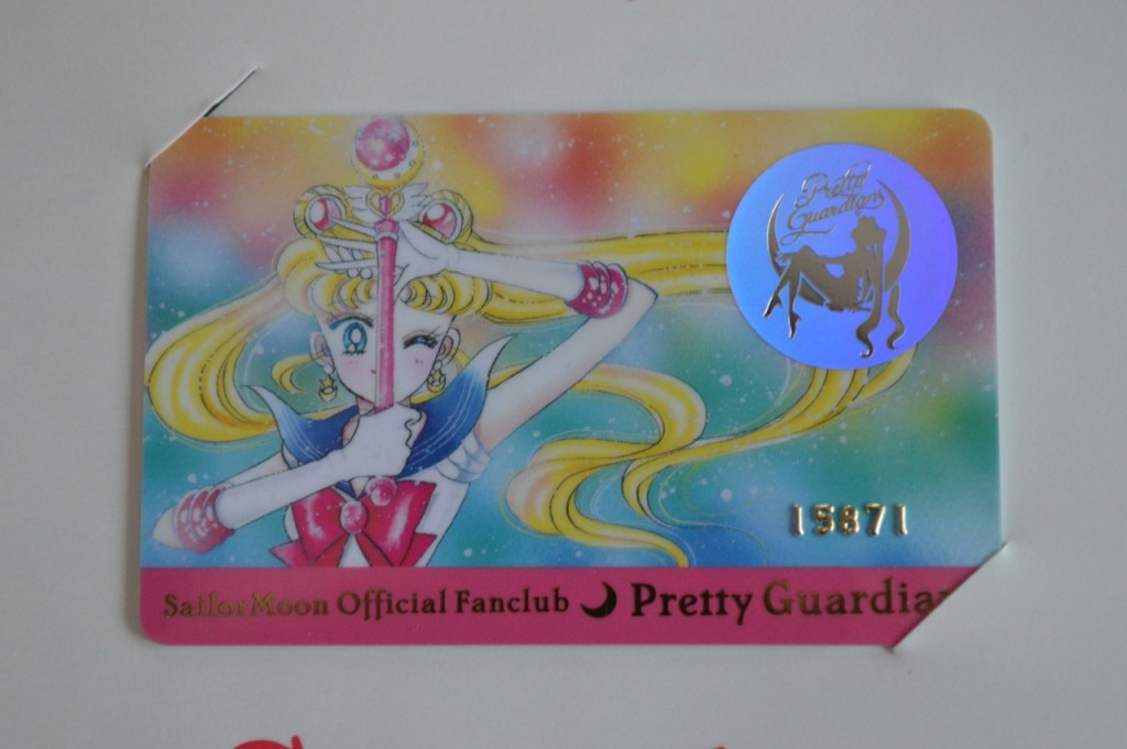 Sailor Moon Official Fan Club - 1st Year Membership