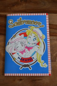 Sailor Moon Official Fan Club 2nd Year Membership - Stationary Set - Front