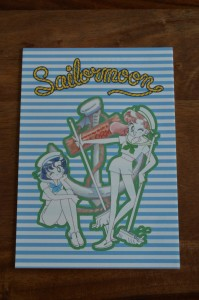 Sailor Moon Official Fan Club 2nd Year Membership - Stationary Set - Ami and Makoto