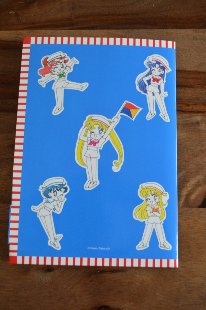 Sailor Moon Official Fan Club 2nd Year Membership - Stationary Set - Back