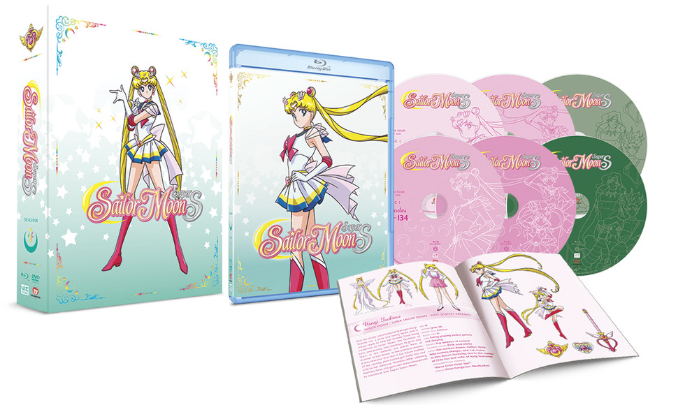 Sailor Moon SuperS Limited Edition Blu-Ray and DVD