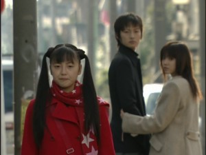 Live Action Pretty Guardian Sailor Moon Act 17 - Mamoru checks out Usagi while Hina is jealous