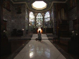 Live Action Pretty Guardian Sailor Moon Act 17 - Minako prays at St. Juban Church