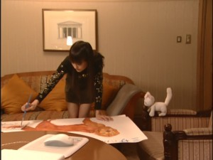 Live Action Pretty Guardian Sailor Moon Act 18 - Minako makes an excessively elaborate poster