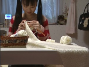 Live Action Pretty Guardian Sailor Moon Act 18 - Usagi knits her scarf with renewed interest