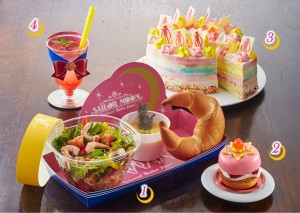 Pretty Guardian Sailor Moon The Miracle 4-D - Food