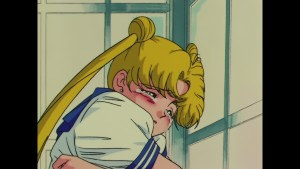 Sailor Moon R episode 61 - Japanese Blu-Ray - Usagi cries