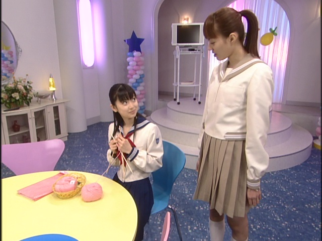 Live Action Pretty Guardian Sailor Moon Act 19 - Ami knits while talking to Makoto