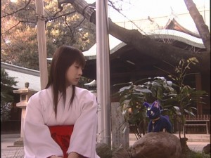 Live Action Pretty Guardian Sailor Moon Act 19 - Rei pretends she doesn't know Minako is Sailor Venus