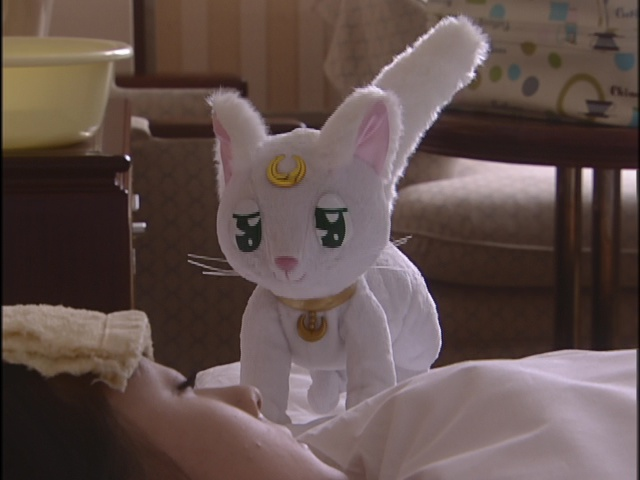 Live Action Pretty Guardian Sailor Moon Act 20 - Artemis takes care of Minako