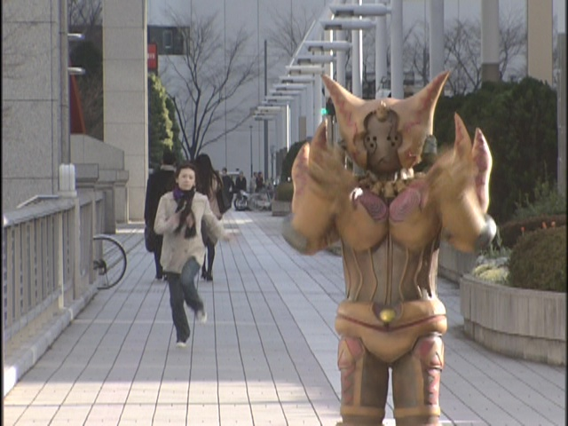 Live Action Pretty Guardian Sailor Moon Act 20 - Rei chases a fake monster