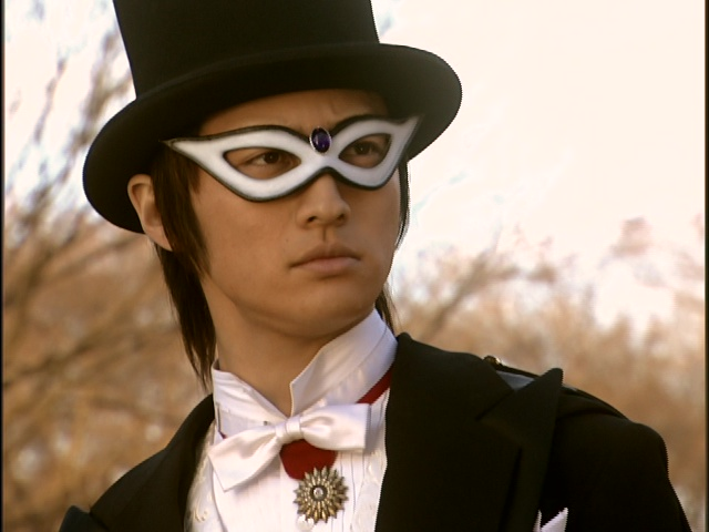 Live Action Pretty Guardian Sailor Moon Act 20 - Tuxedo Mask confronted by Makoto