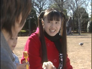 Live Action Pretty Guardian Sailor Moon Act 20 - Usagi pleased that Mamoru likes his food