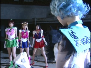 Live Action Pretty Guardian Sailor Moon Act 21 - Dark Mercury and the Sailor Guardians