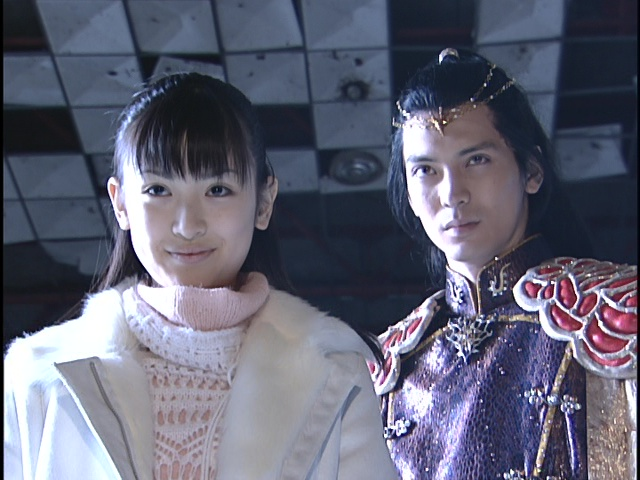 Live Action Pretty Guardian Sailor Moon Act 21 - Smirking Ami and Kunzite