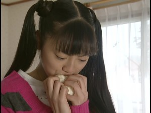 Live Action Pretty Guardian Sailor Moon Act 21 - Usagi is emotional about a meat bun