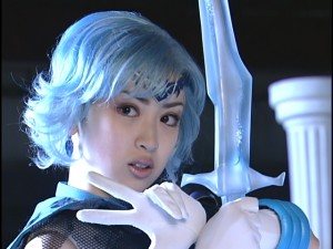 Live Action Pretty Guardian Sailor Moon Act 22 - Dark Mercury and her sword
