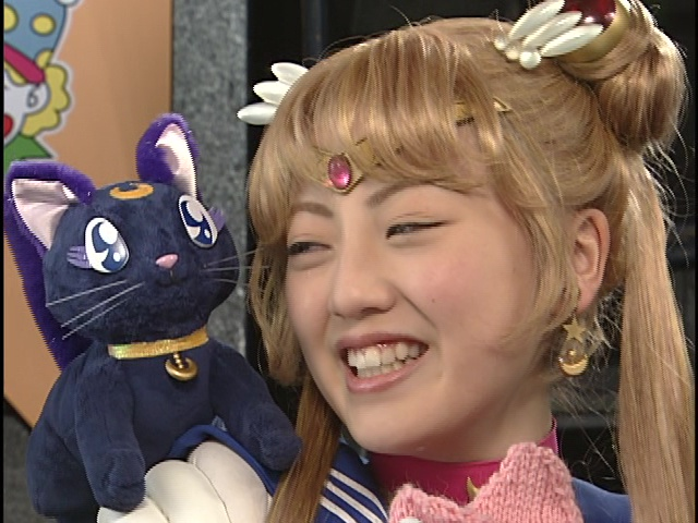 Live Action Pretty Guardian Sailor Moon Act 22 - Luna and Sailor Moon