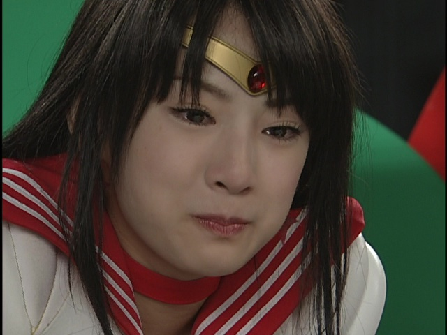 Live Action Pretty Guardian Sailor Moon Act 22 - Sailor Mars crying
