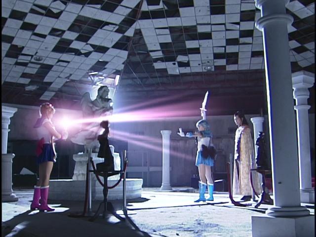Live Action Pretty Guardian Sailor Moon Act 22 - Usagi attempts to heal Dark Mercury