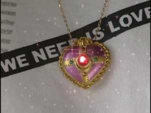 Live Action Pretty Guardian Sailor Moon Act 22 - Usagi's tear on her locket