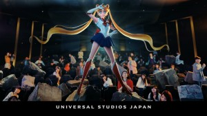 Pretty Guardian Sailor Moon The Miracle 4-D Universal Studios Japan ride - Sailor Moon in a theatre