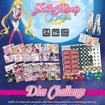 Sailor Moon Crystal Dice Challenge components
