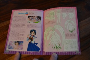Pretty Guardian Sailor Moon The Movie Blu-Ray - Booklet - Pages 14 and 15