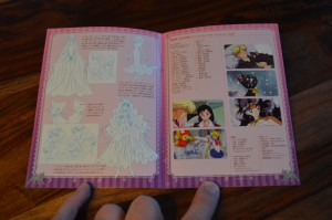 Pretty Guardian Sailor Moon The Movie Blu-Ray - Booklet - Pages 8 and 9