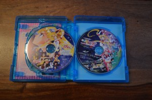 Pretty Guardian Sailor Moon The Movie Blu-Ray - Contents - S and SuperS movie