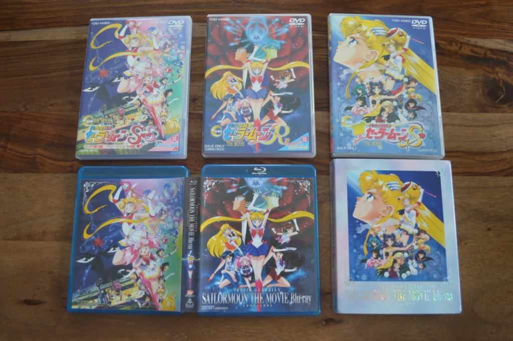 Pretty Guardian Sailor Moon The Movie Blu-Ray -
