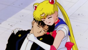 Sailor Moon R The Movie - Tuxedo Mask and Sailor Moon