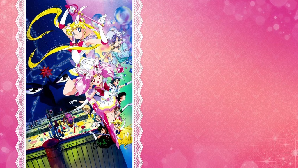 Sailor Moon SuperS The Movie - Blank Menu