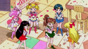 Sailor Moon SuperS The Movie - Young versions of the Sailor Team