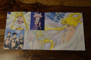 Sailor Moon The 25th Anniversary Memorial Tribute Album - Insert - Pages 11 and 12