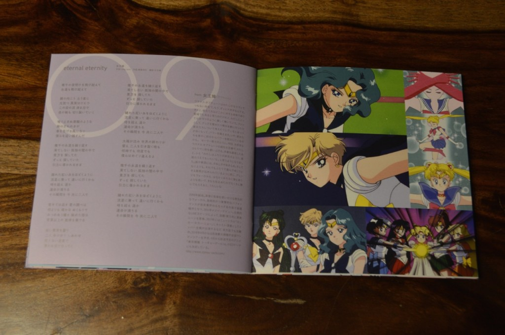 Sailor Moon The 25th Anniversary Memorial Tribute Album - Insert - Pages 15 and 16
