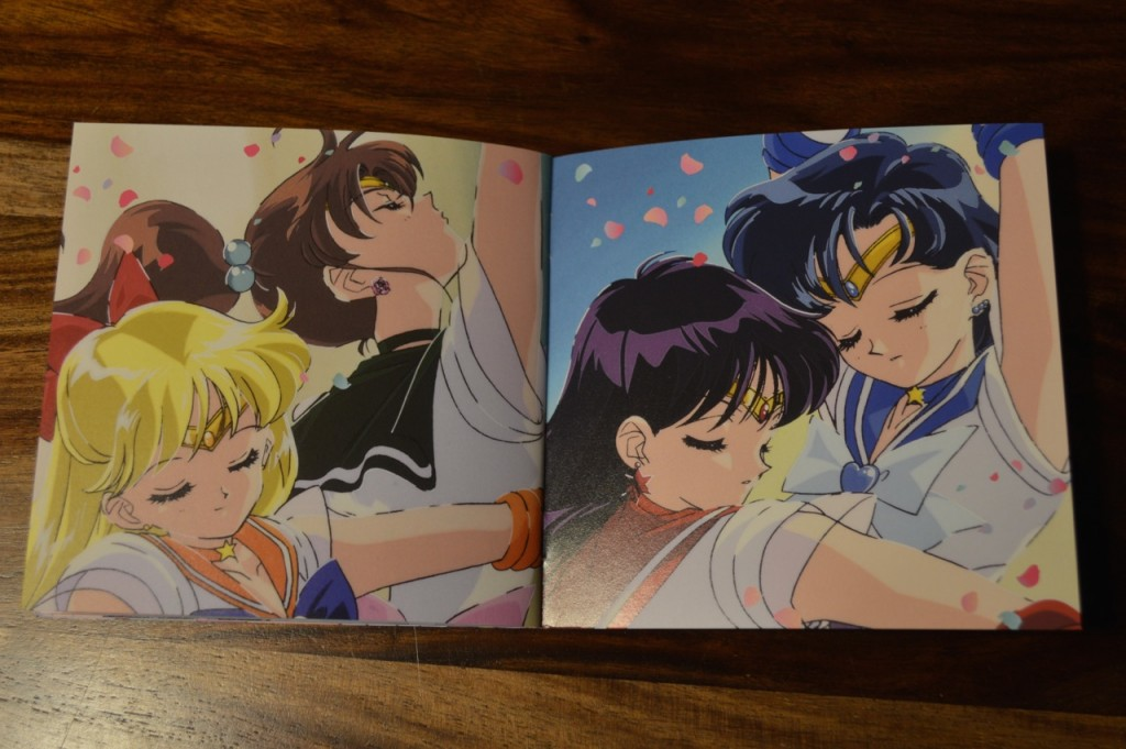 Sailor Moon The 25th Anniversary Memorial Tribute Album - Insert - Pages 19 and 20