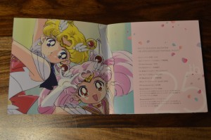 Sailor Moon The 25th Anniversary Memorial Tribute Album - Insert - Pages 1 and 2