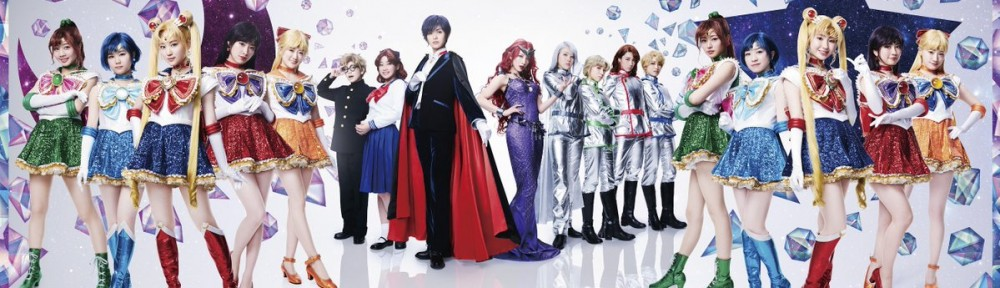 Nogizaka46 x Sailor Moon musical - The entire cast