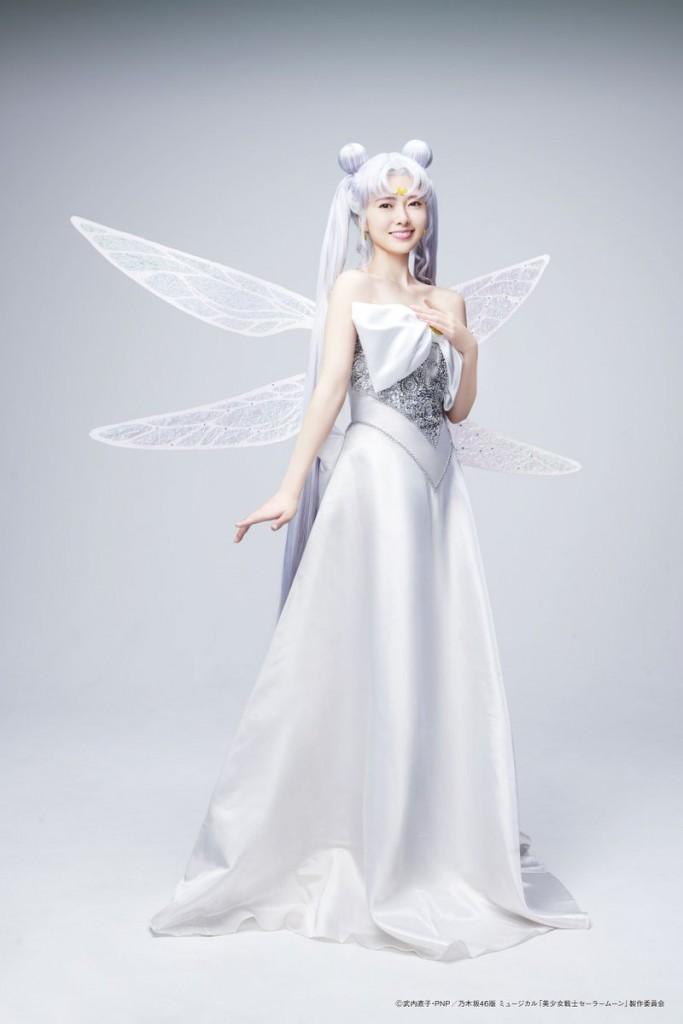 Nogizaka46 x Sailor Moon musical - Mai Shiraishi as Queen Serenity