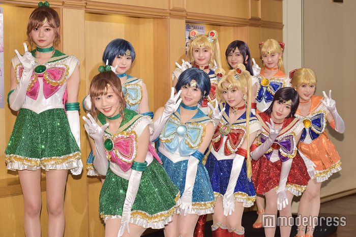 Nogizaka46 x Sailor Moon Musical - Both Sailor Teams