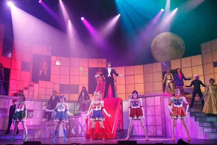 Nogizaka46 x Sailor Moon Musical - The full cast