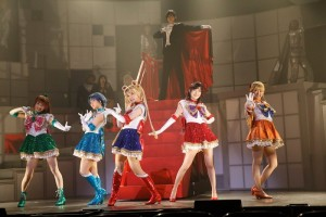 Nogizaka46 x Sailor Moon Musical - The Sailor Team and Tuxedo Mask