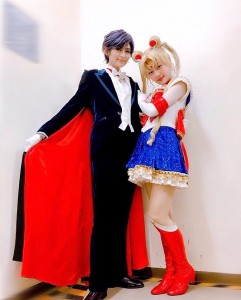 Nogizaka46 x Sailor Moon musical - Tuxedo Mask and Sailor Moon