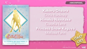 Sailor Moon S The Movie English cast
