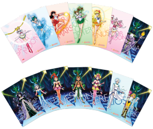 Sailor Moon SuperS Part 2 Blu-Ray - Postcards
