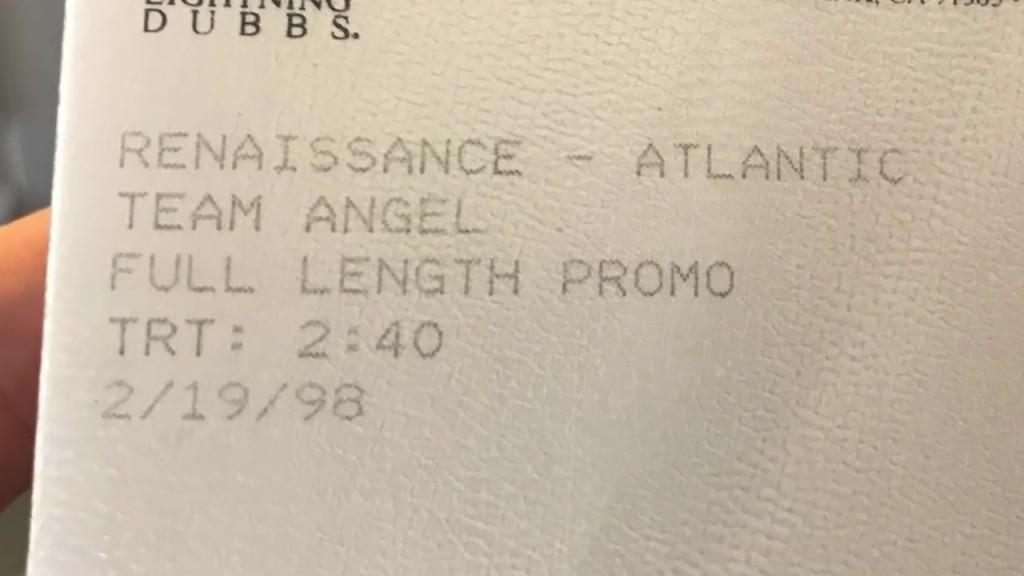 Team Angel - Tape details